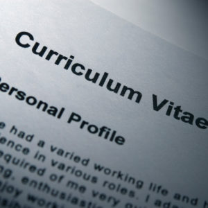 Accertamento su curriculum