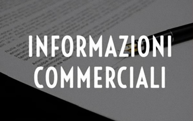 Read more about the article Informazioni Commerciali