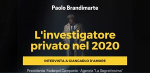 L'INVESTIGATORE PRIVATO NEL 2020